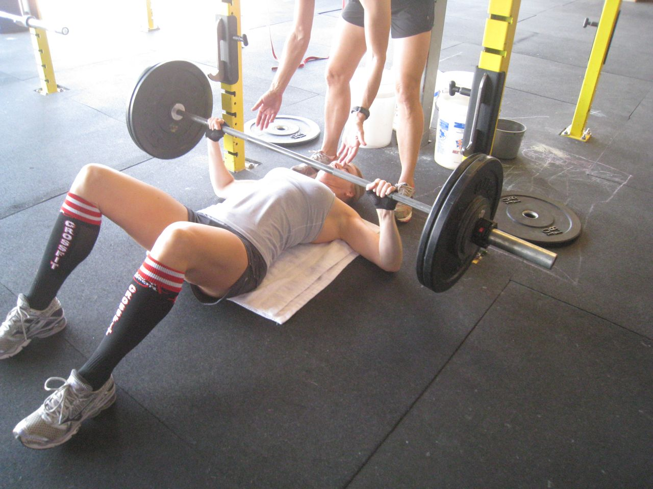 the rockzone 12 02 20 bench press and push ups With crossfit floor press