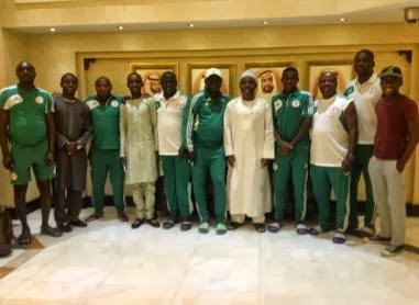 Dame Patience Goodluck Jonathan Sends Best Wishes To Eaglets.