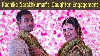 Radhika Sarathkumar daughter Engagement Photos