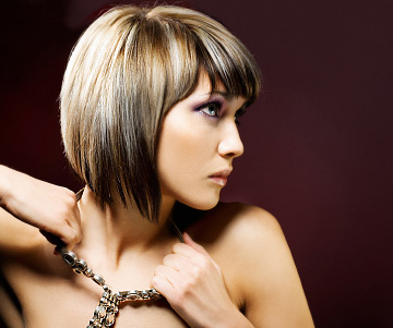 Fashion Clothes Designing And Tattoos: Color For Short Hairstyles 2011