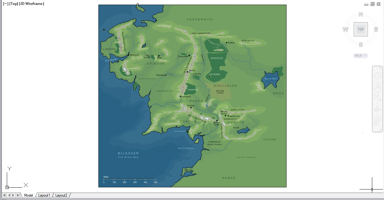 Middle earth map project screenshot autocad civil 3d 2012 gumiabroncs Image collections