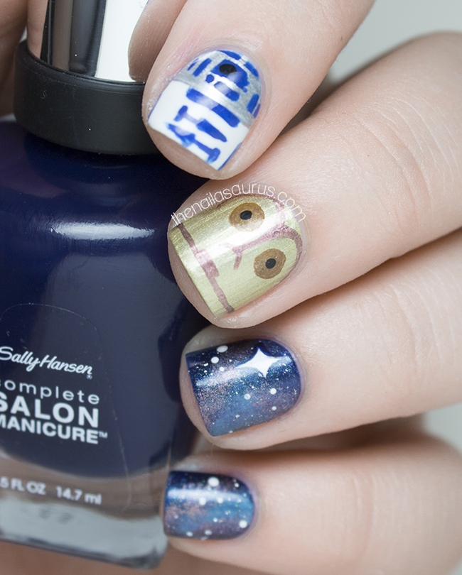 Star Wars Nail Art | The Nailasaurus | UK Nail Art Blog