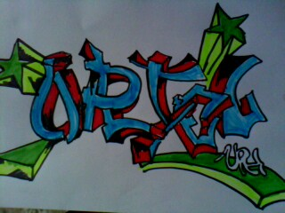 Graffitis Con Nombre Uriel Graffiti Images