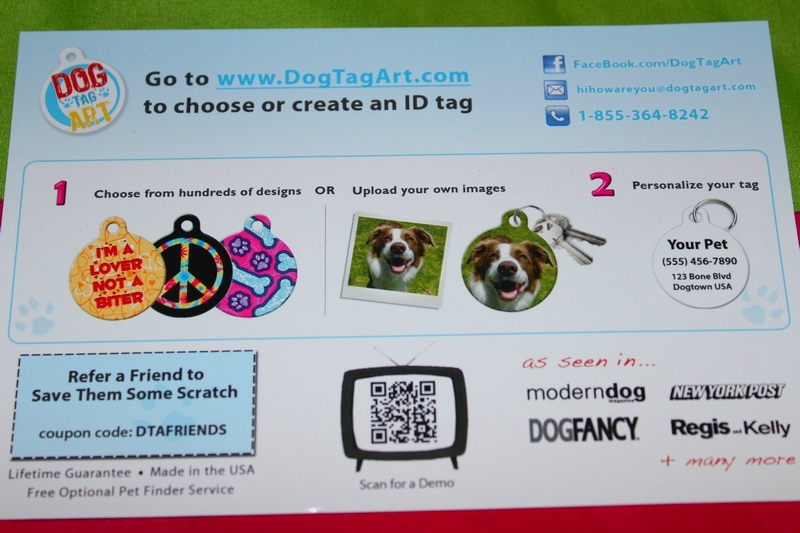 dog tag art review and giveaway the cozy pet blog