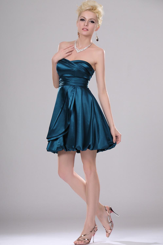 robes de mariage robes de soir e et d coration robe de soir e bleue courte. Black Bedroom Furniture Sets. Home Design Ideas