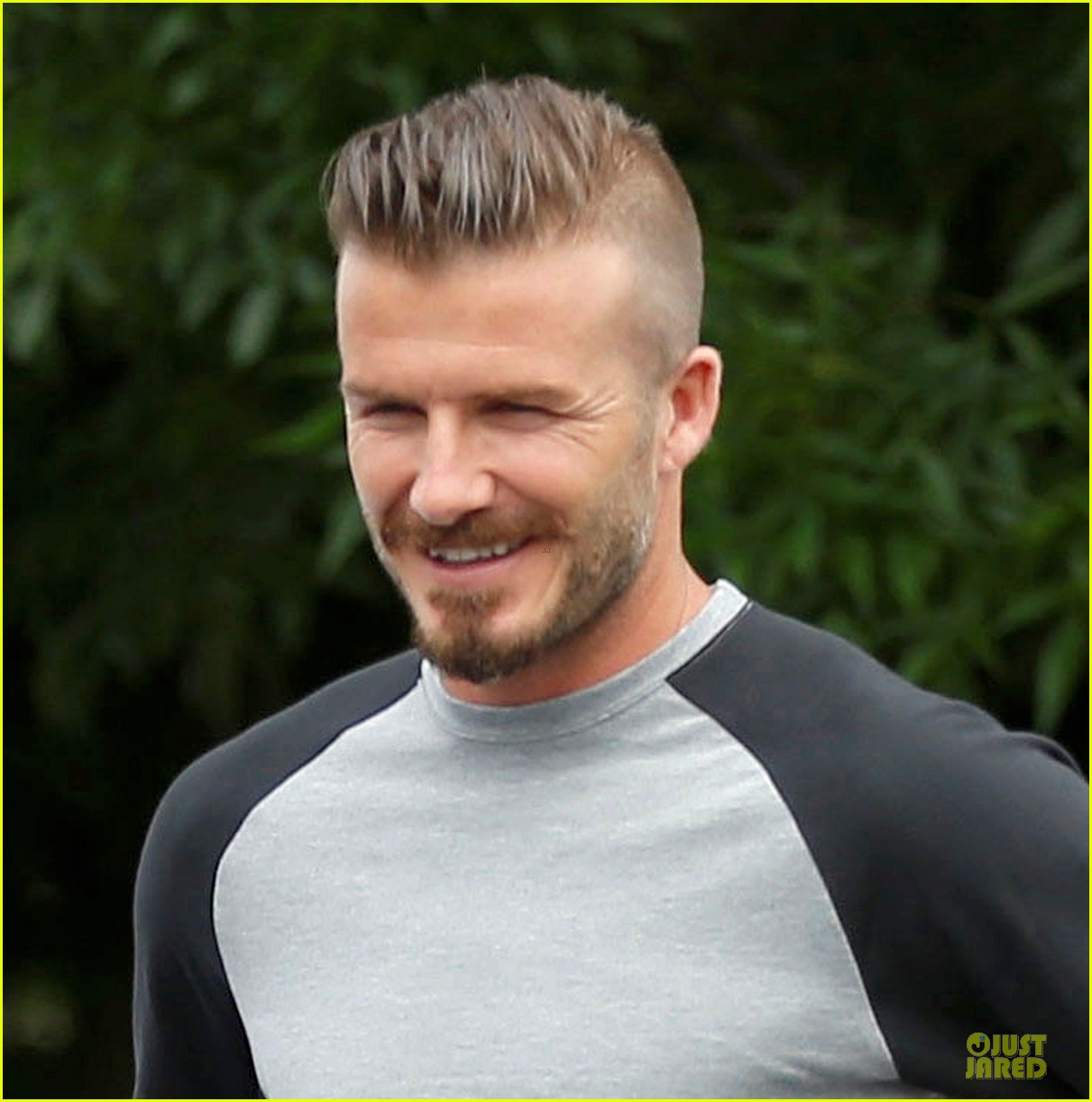 David Beckham Hairstyles Photos