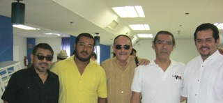 CON LOS COLEGAS PERIODISTAS (mayo 2012)