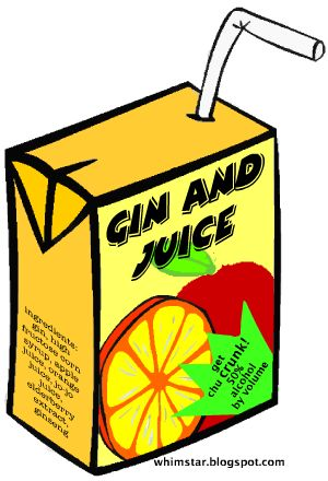 Putting foot top ten tuesday gin drinks for Best juice with gin