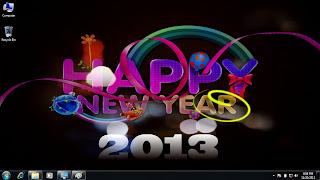 Theme Tahun Baru 2013 untuk Windows