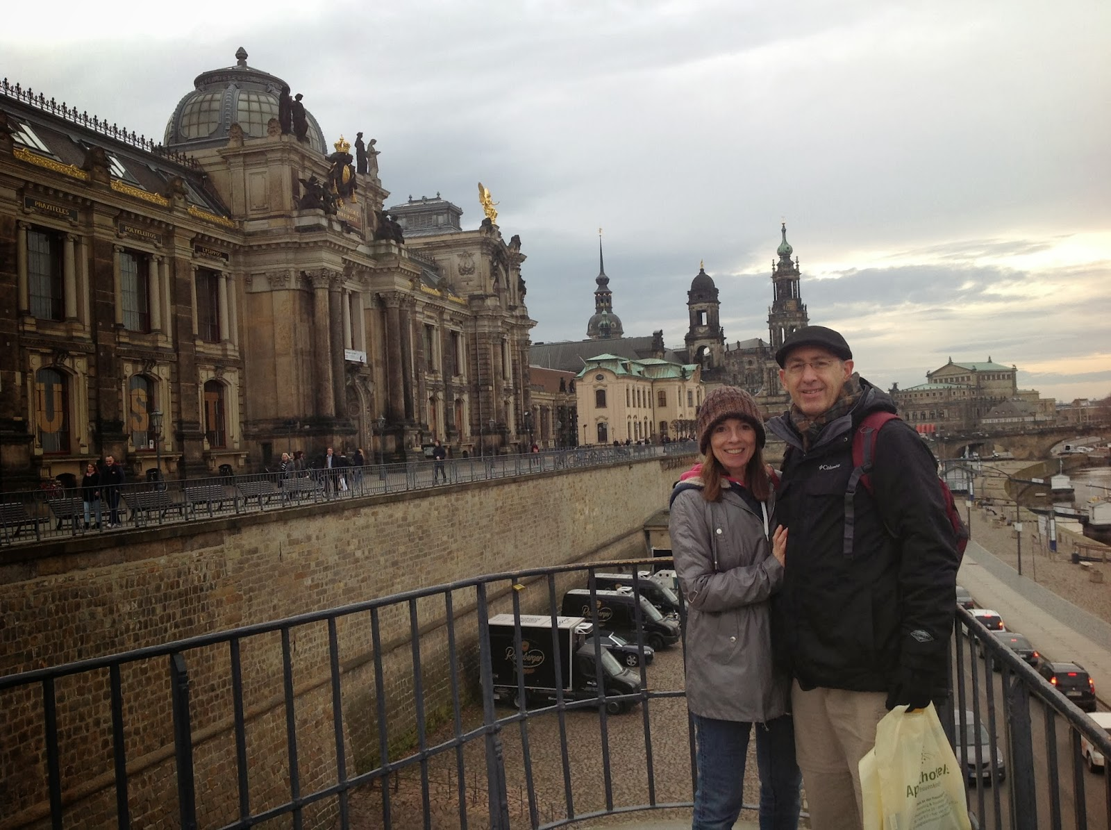 Picketts In Poland Just A Few Hours Indresden Germany