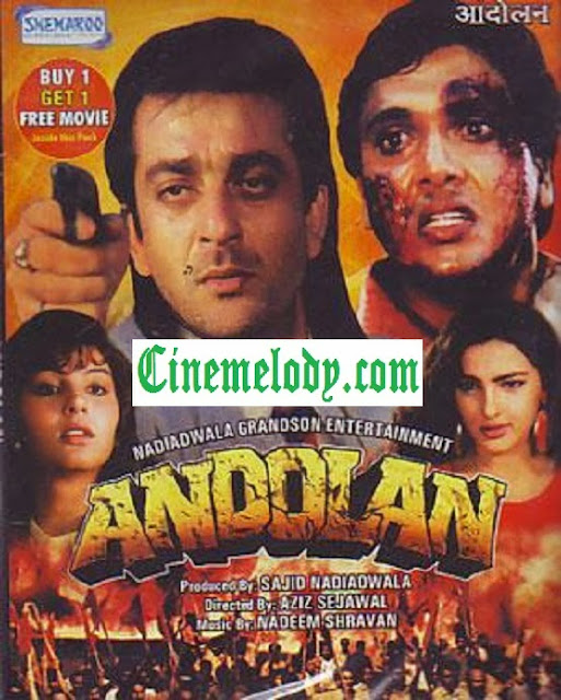Andolan (1995) Hindi Mp3 Songs Free  Download