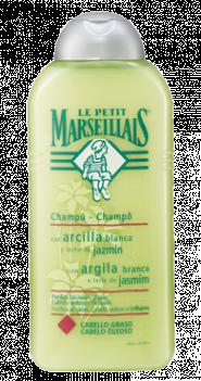 Le Petit Marsellais Champu con arcilla blanca