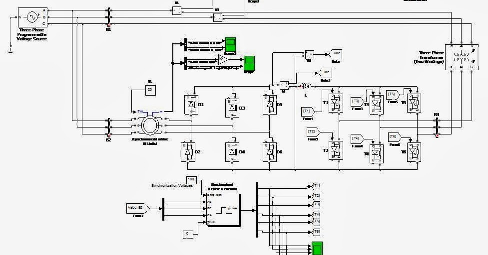 matlab electrical ieee  917207560923  study of slip energy recovery of induction motor drive