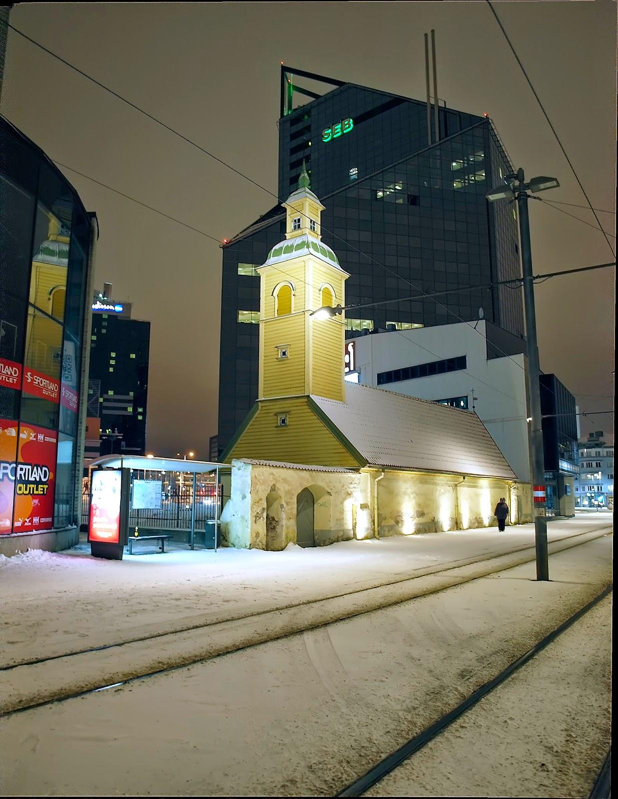 Григорианская церковь армянской общины в Таллинне