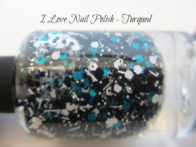 I Love Nail Polish Turqued