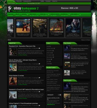 Johny Darkgamer2 Blogger Template