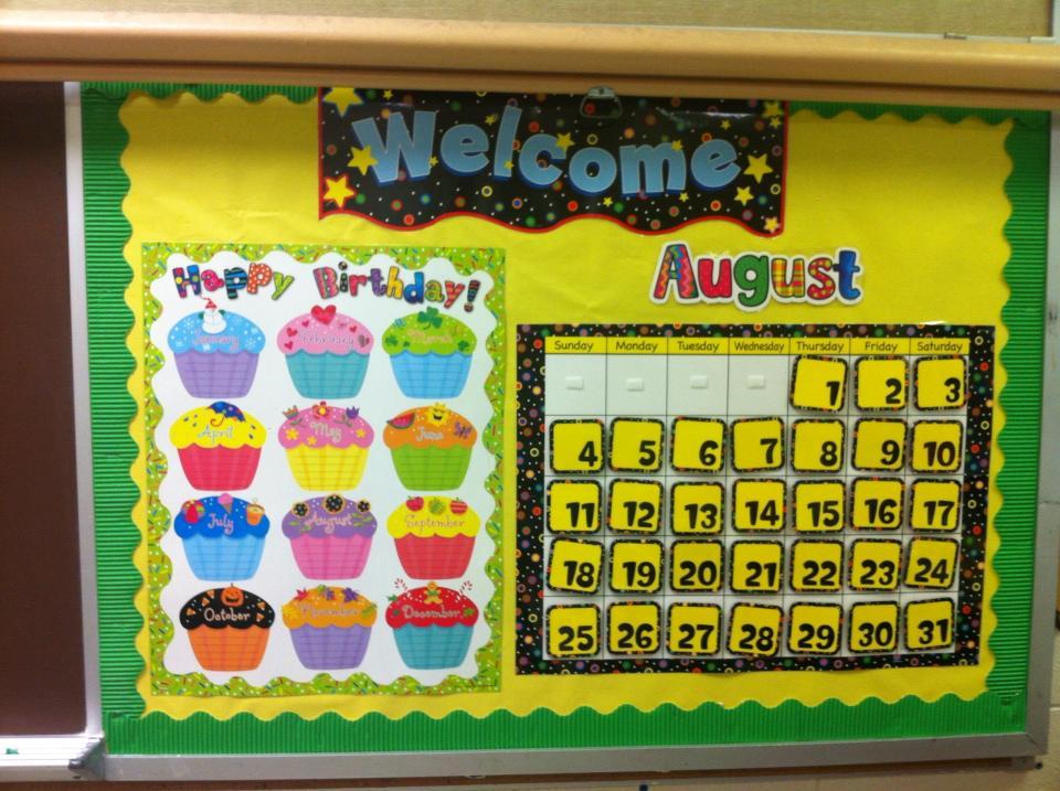 Classroom Calendar Bulletin Board Ideas : My adventures in th grade classroom so far