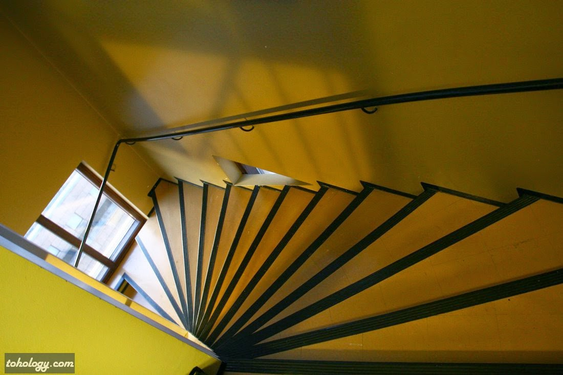 Stairs to the Observation Deck Solo Sokos Hotel Torni