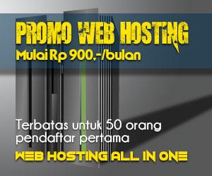 Promo Web Hosting Murah