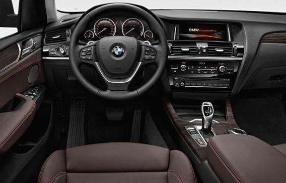 2015 BMW X3 Interior
