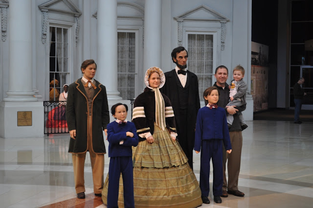 Lincoln Presidential Library & Museum in Springfield, Illinois