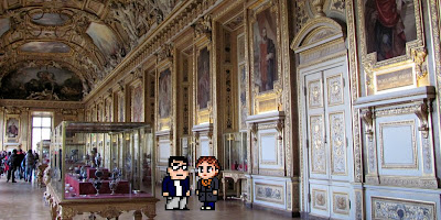 Casal Geek Eurotour 2013 - Descobrindo Paris - Museé du Louvre