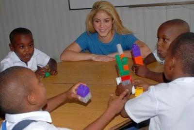 Blog da Shakira - Shakira nos orgulha com o seu papel social
