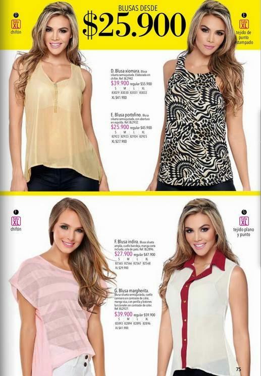 Blusas de Moda Lebon C-1 2015