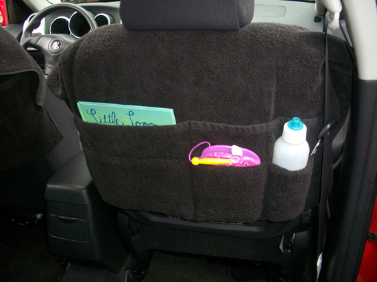 Toy Car Back Seat Organizer : Mommyhood craft corner back seat toy organizers