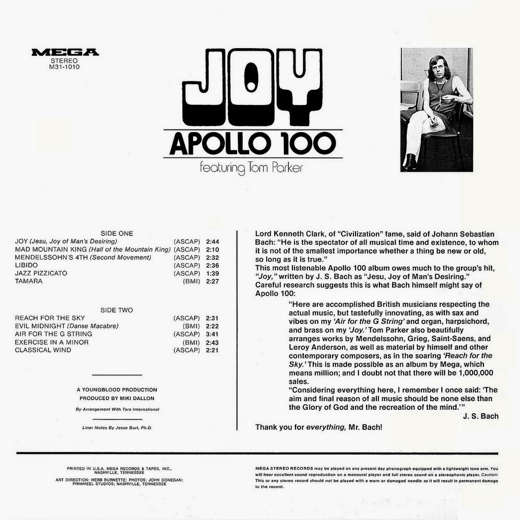 Apollo 100 - Jesu Joy