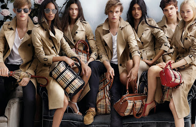 Bag Addicts Anonymous Exclusive: Burberry's Spring/Summer 2014 Ad Campaign