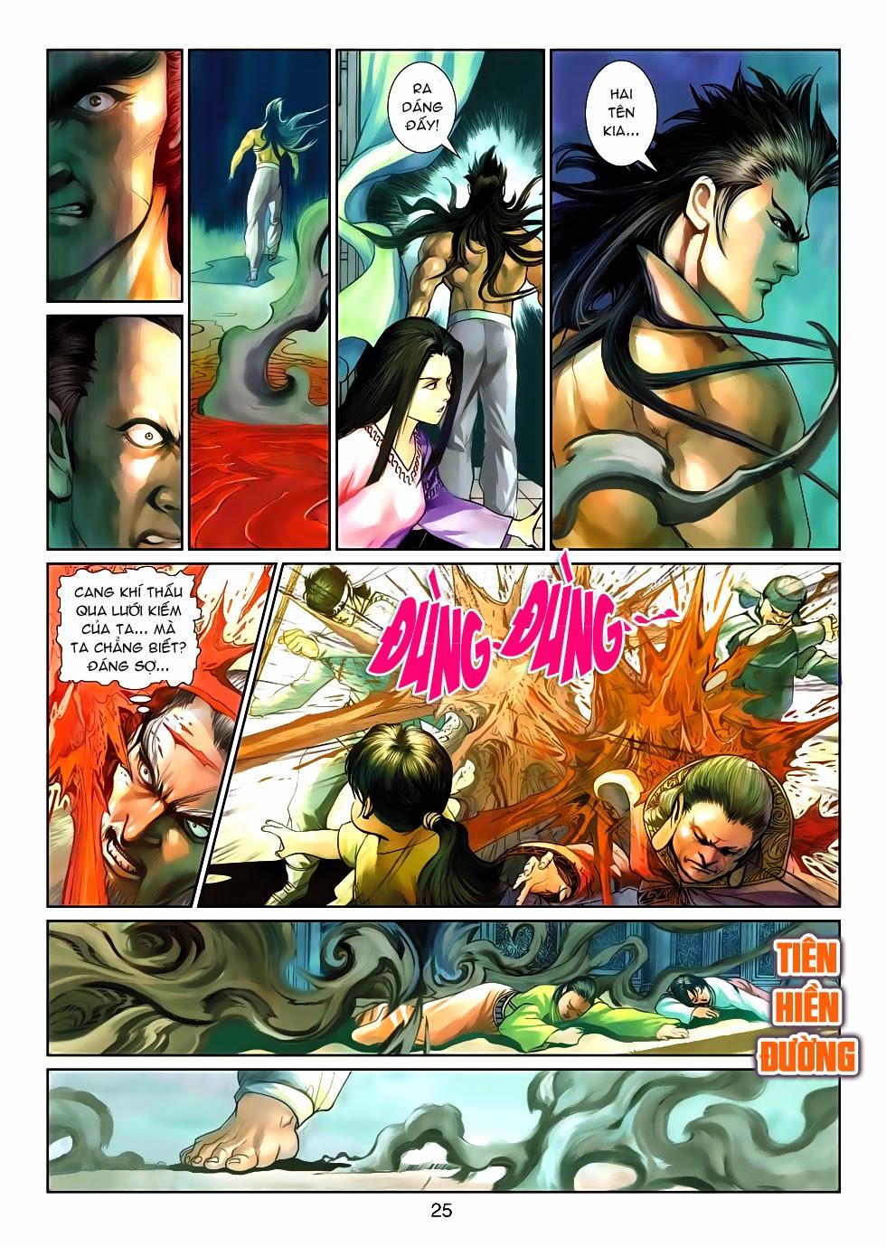 Thần Binh Tiền Truyện 4 - Huyền Thiên Tà Đế chap 10 - Trang 25