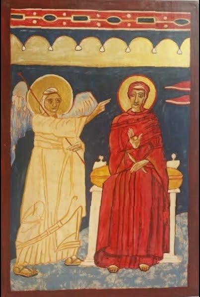 """""""La Anunciación"""", icono"""