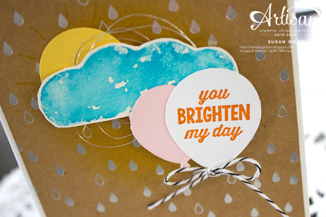 You Brighten My Day Card (detail) ~ Susan Wong