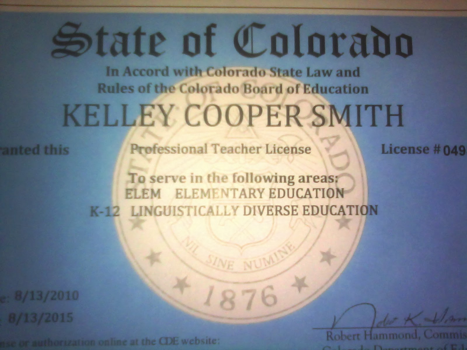 At our peak red tape doesnt even begin to describe the process for receiving this i mean wow i applied for my colorado teaching license back in julywhich 1betcityfo Gallery