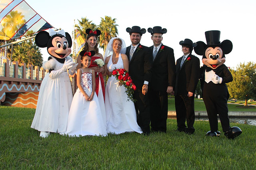 And what choices you have in planning your Disney wedding