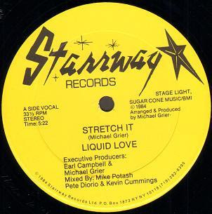 Liquid Love - Stretch It 1984 12 Inch