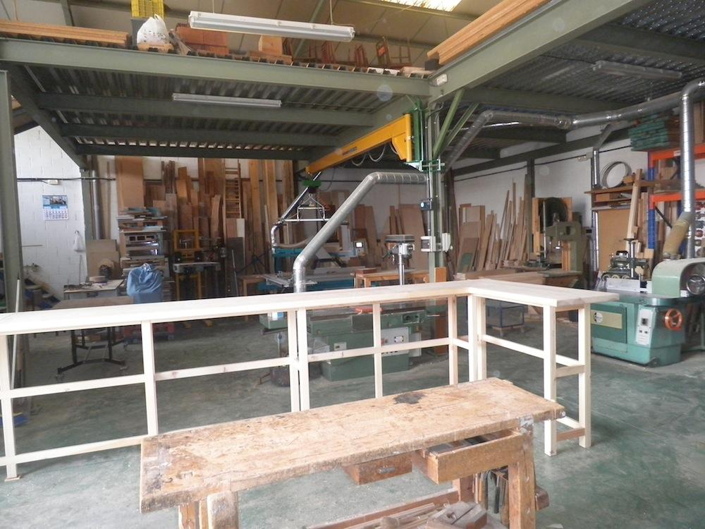 Barra de bar a medida muebles cansado zaragoza carpintero ebanista artesano - Muebles a medida en zaragoza ...