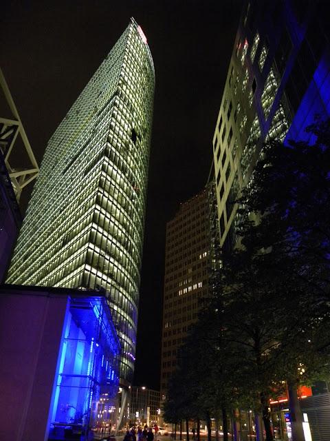 Berlin by night