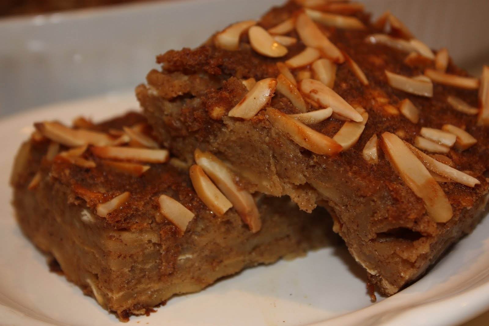 EVERYDAY SISTERS: Matzo Apple Pudding