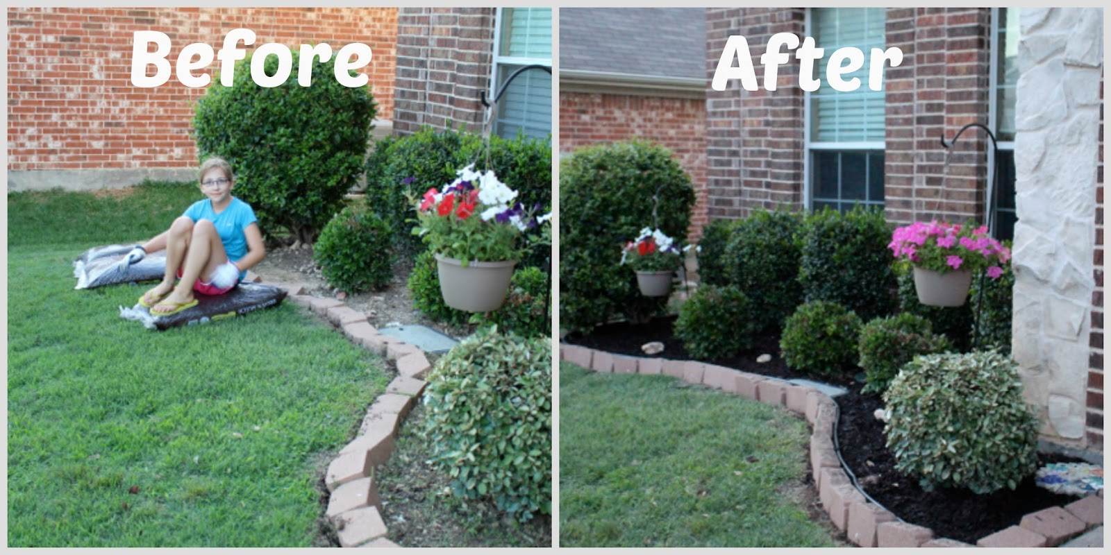 Landscaping Rock Vs Mulch : Posed perfection ah that s mulch better summer landscaping