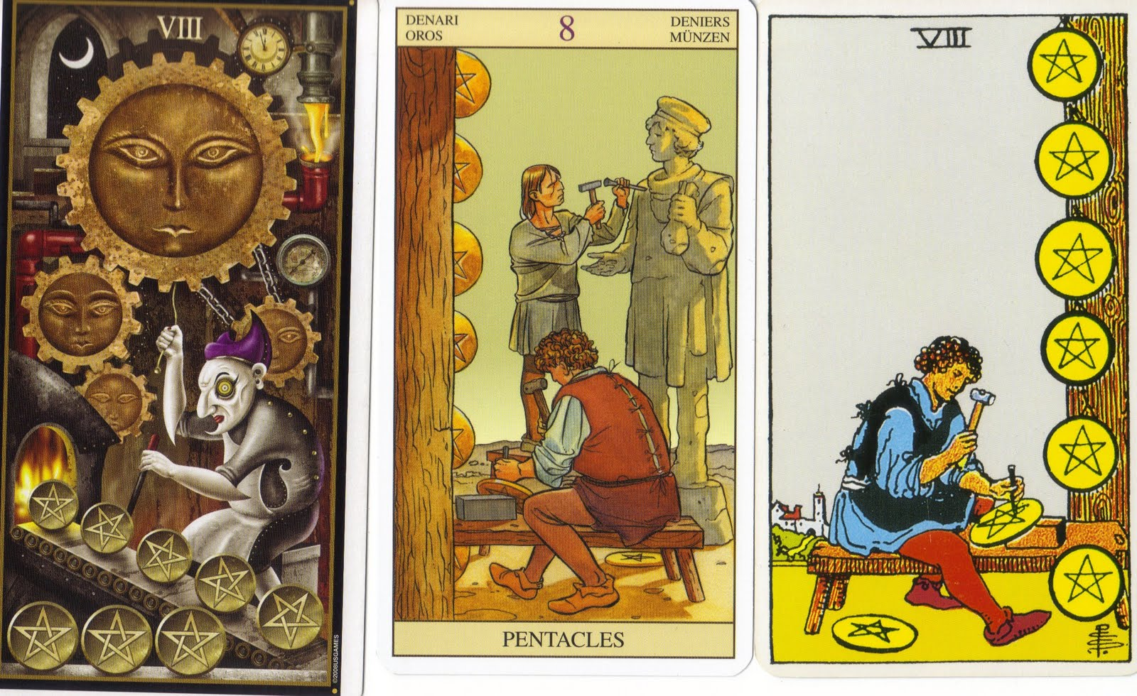 Nale And Company The Eight Of Pentacles On My Day Off