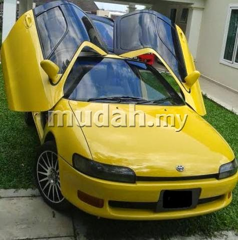 Spotted for Sale 1994 Toyota Sera - Budget McLaren F1 Butterfly door experience & Motoring-Malaysia: Spotted for Sale: 1994 Toyota Sera - Budget ...