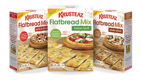 Krusteaz flatbread mixes