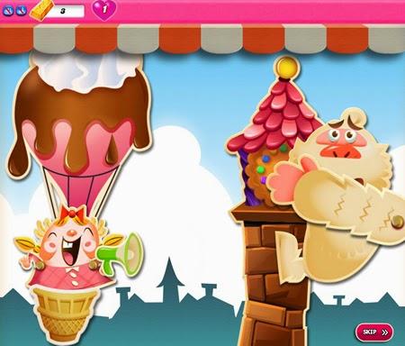 Candy Crush Saga 696-710ending