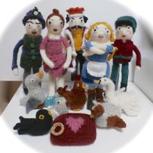 Knitted the 12 Days of Christmas