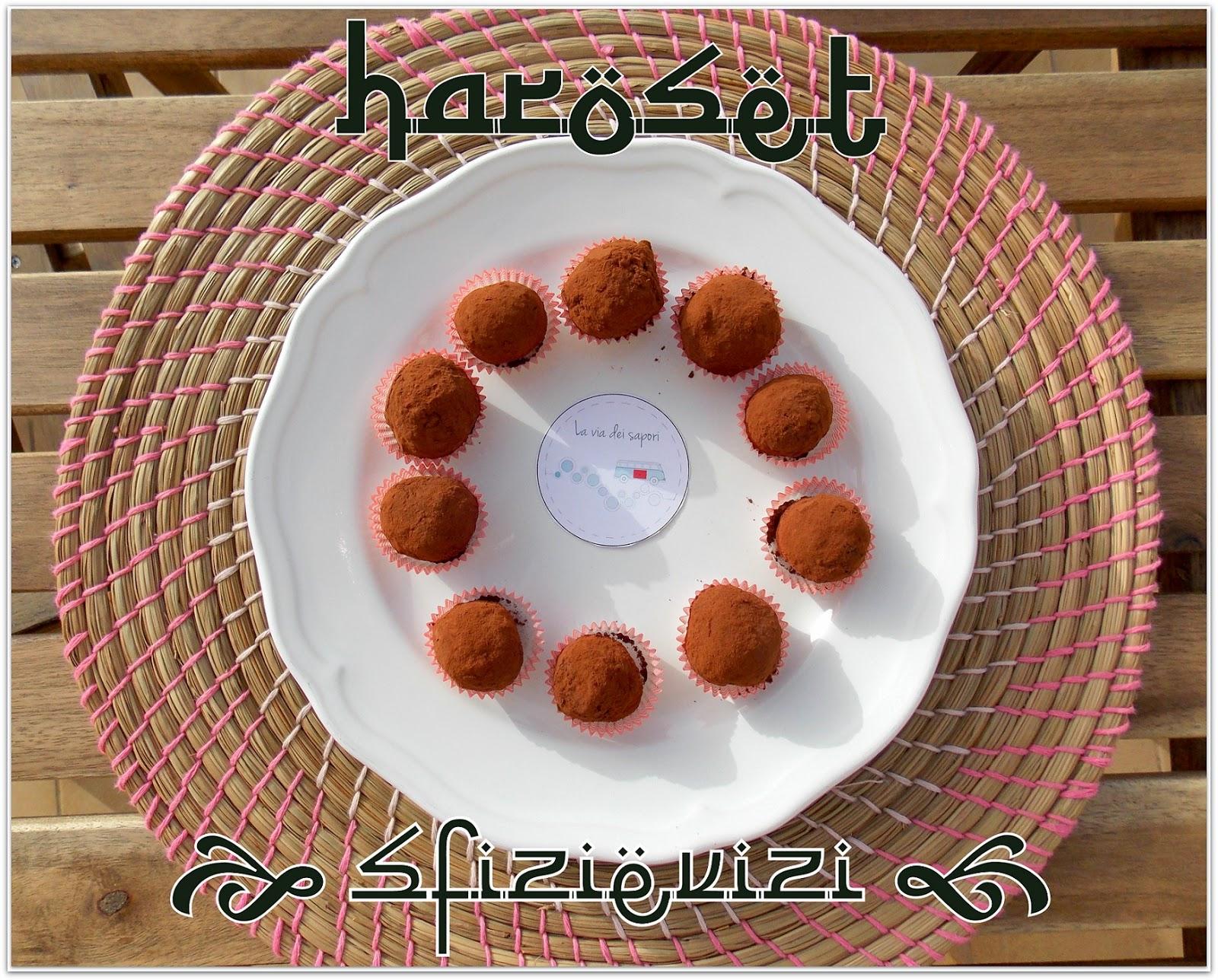 haroset - moroccan truffles with dates, almonds and apples - vegan recipe with the natural fruit sugar - tartufi marocchini con datteri, mandorle e mele - ricetta vegana, senza glutine e senza zuccheri aggiunti