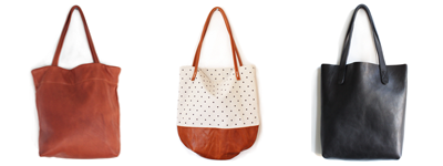 Rennes tote bags Sophie, Riley, unlined tote