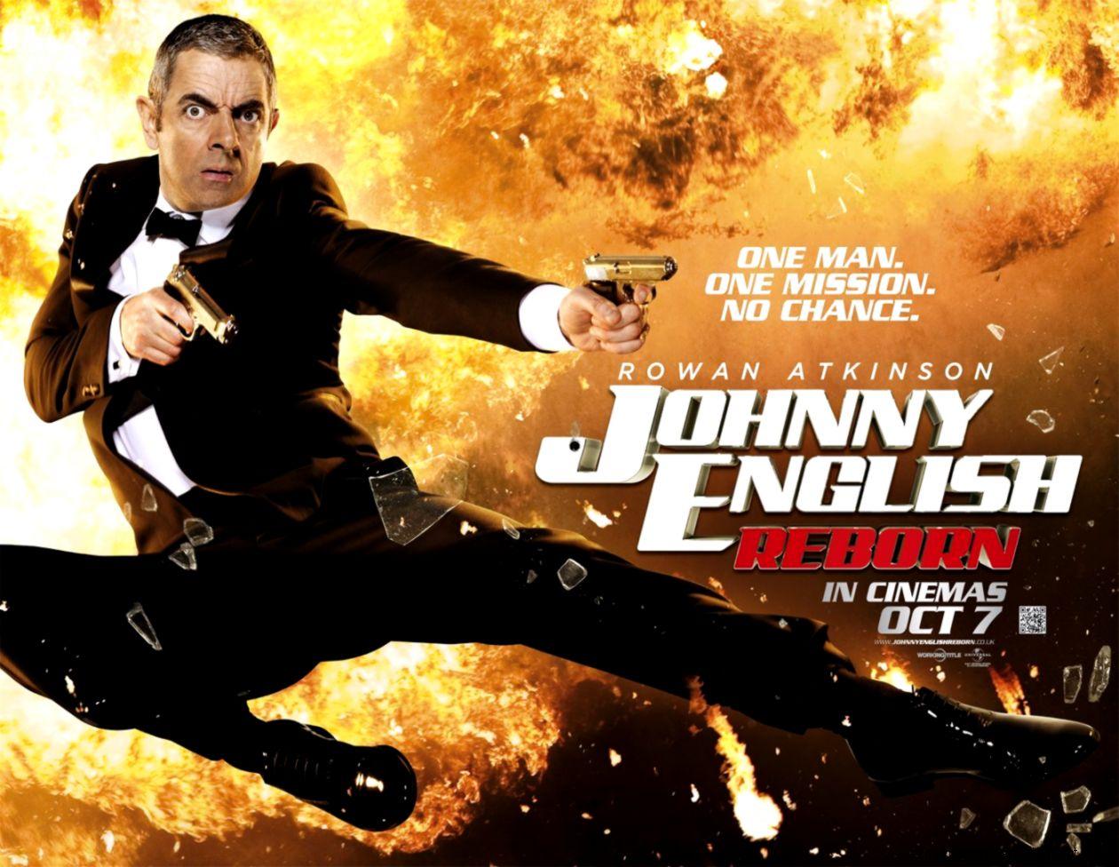 Johnny English Reborn Movie