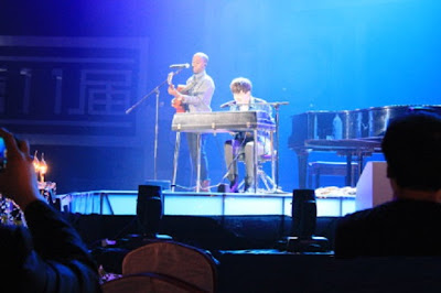 Greyson Chance performs Sunshine & City Lights in Beijing China at MTV Awards
